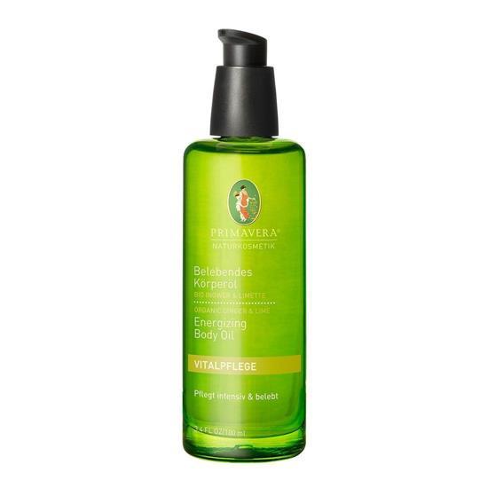 Bild von Primavera® - Vitalpflege - Belebendes Körperöl - Bio Ingwer Limette - 100 ml