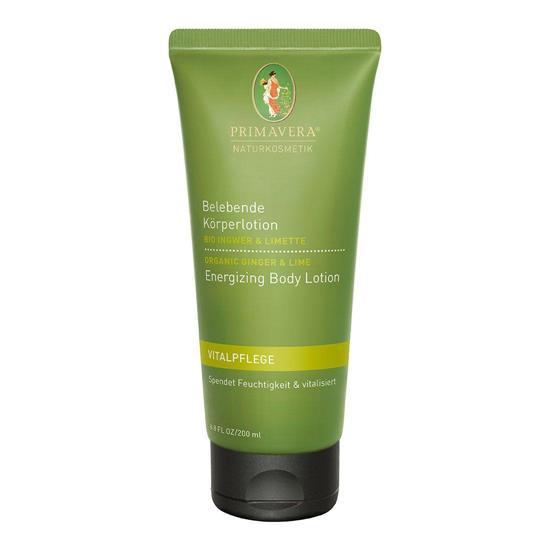 Bild von Primavera® - Vitalpflege - Belebende Körperlotion - Bio Ingwer Limette - 200 ml