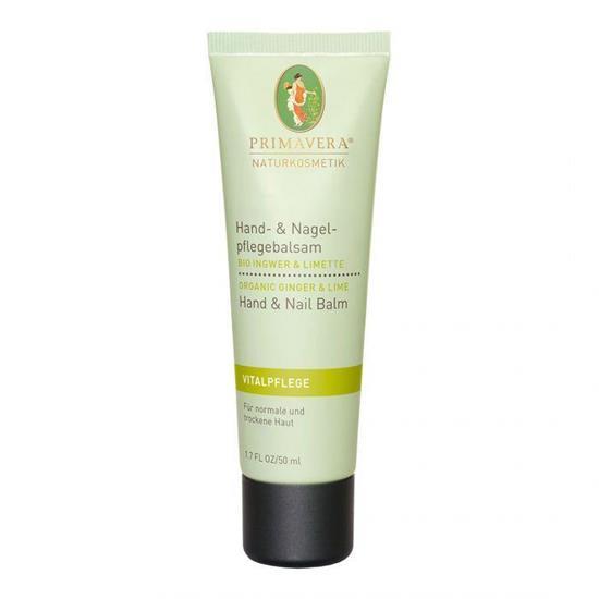 Bild von Primavera® - Vitalpflege - Hand- & Nagelpflegebalsam - Bio Ingwer Limette - 50 ml