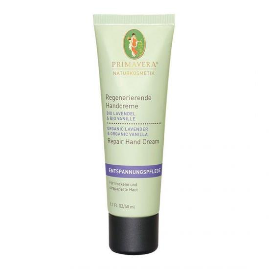 Bild von Primavera® - Entspannungspflege - Regenerierende Handcreme - Lavendel Vanille Bio - 50 ml