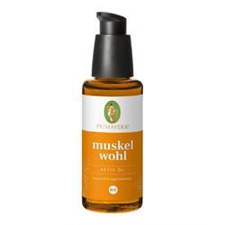 Bild von Primavera® - Muskelwohl - Aktiv Öl Bio - 50 ml