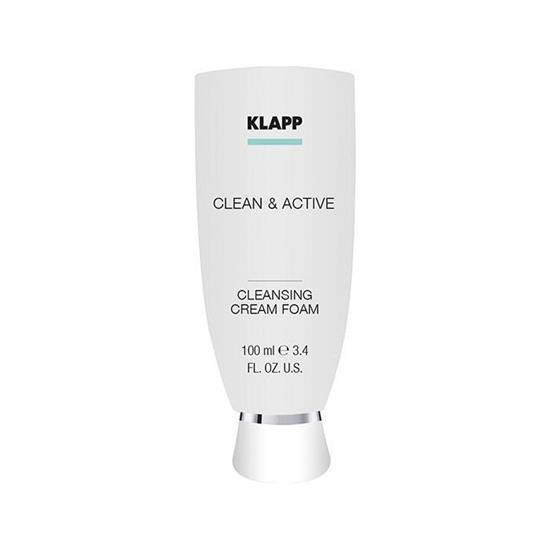 Bild von Klapp - Clean & Active - Cleansing Cream Foam - 100 ml
