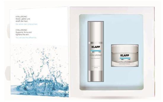 Bild von Klapp - Hyaluronic - Set aus Day & Night Cream & Serum - 50 ml + 50 ml