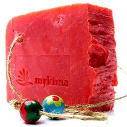 Bild von mykima - Kaltgerührte Schafmilchseife - Granatapfel - 150 g