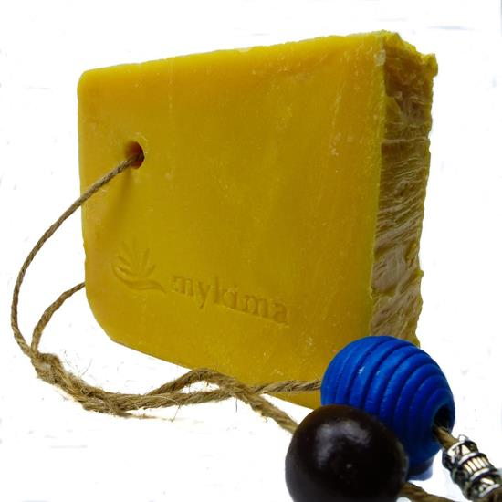 Bild von mykima - Kaltgerührte Schafmilchseife - Zirbe - 150 g