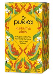 Bild von Pukka - Kurkuma Aktiv Tee - bio - 20 Aufgußbeutel