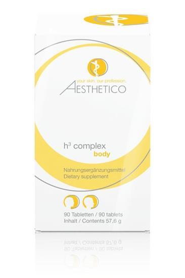 Bild von Aesthetico - Haarpflege - H³ Complex - 90 Tabletten