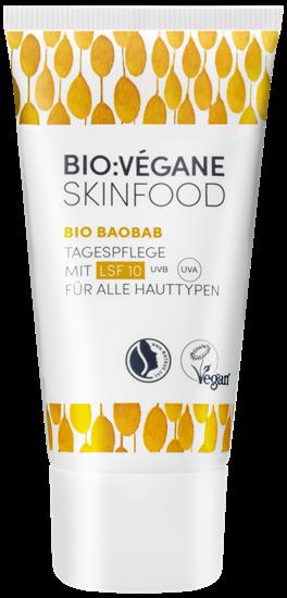 Bild von Bio:Végane - Bio Baobab - Tagespflege mit LSF 10 - 50 ml
