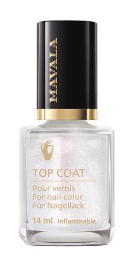 Bild von Mavala - Star Top Coat - Silber - 14 ml