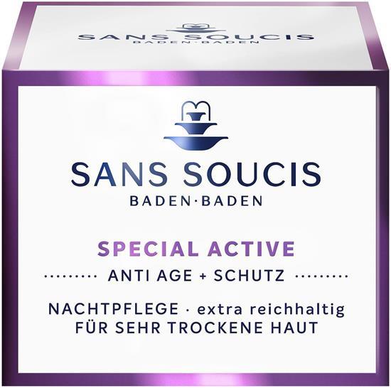 Bild von Sans Soucis - Special Active - Nachtpflege Extra Reichhaltig - 50 ml