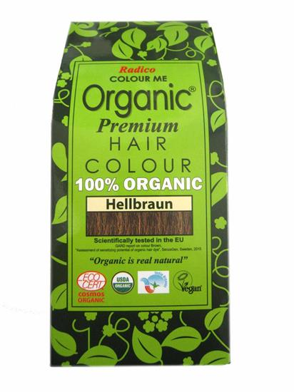 Bild von Radico - Hair Colour - Organic Hellbraun - 100 g