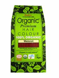 Bild von Radico - Hair Colour - Organic Wine Red - 100 g