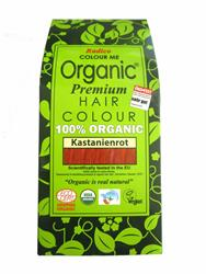 Bild von Radico - Hair Colour - Organic Auburn Red - 100 g