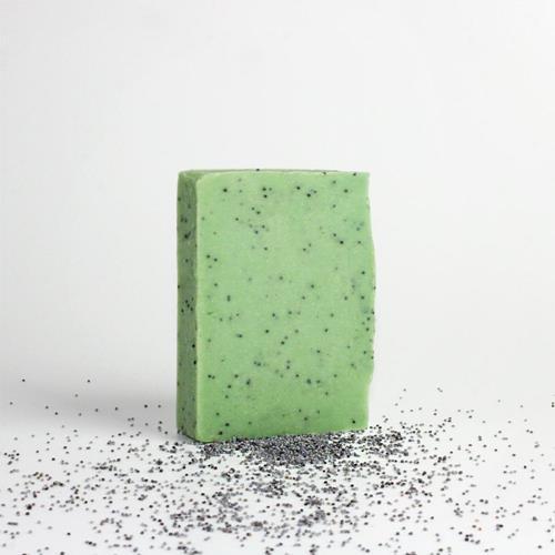 Bild von I Want You Naked - Soap & Stone Set - Minze & Mohn
