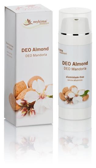 Bild von mykima - Kiss of Nature - Deo ohne Aluminium - Mandel (Almond) - 50 ml