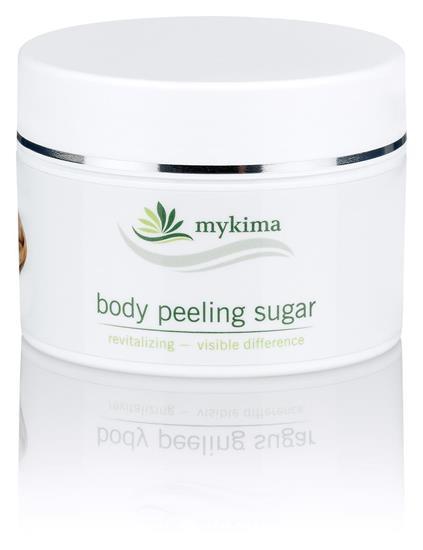 Bild von mykima - Kiss of Nature - Peeling - Körperpeeling Zucker - Body Peeling Sugar - 200 ml