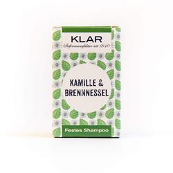 Bild von Klar Festes Shampoo - Kamille/Brennnessel - 100 g