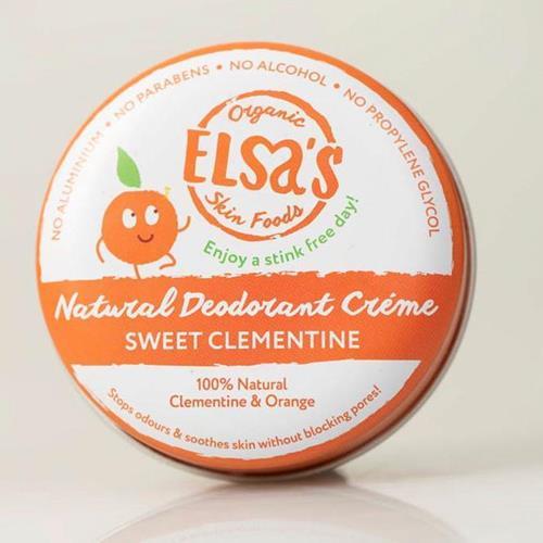 Bild von Elsa's Organic Skin Foods - Deodorant Creme - Sweet Clementine