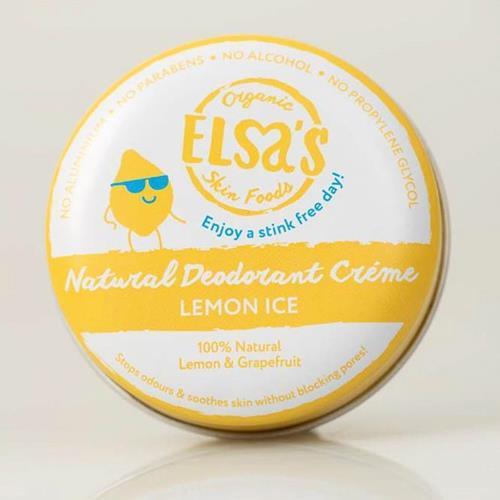 Bild von Elsa's Organic Skin Foods - Deodorant Creme - Lemon Ice