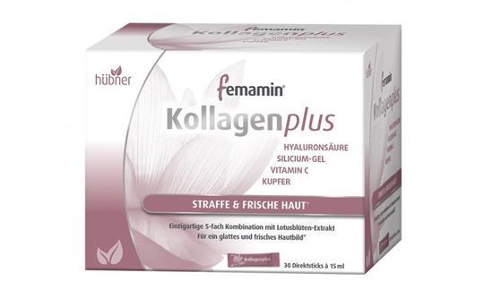 Bild von Hübner - femamin Kollagenplus - 30 Sticks für 15 Tage