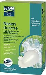 Bild von Fitne - Nasendusche mit 20 Dosierbeutel Natursalz à 1,8 g - Set