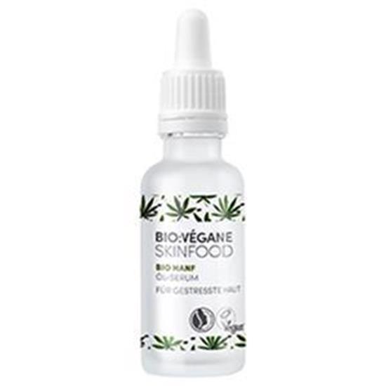 Bild von Bio:Végane Bio Hanf - Öl-Serum - für gestresste Haut - 30 ml