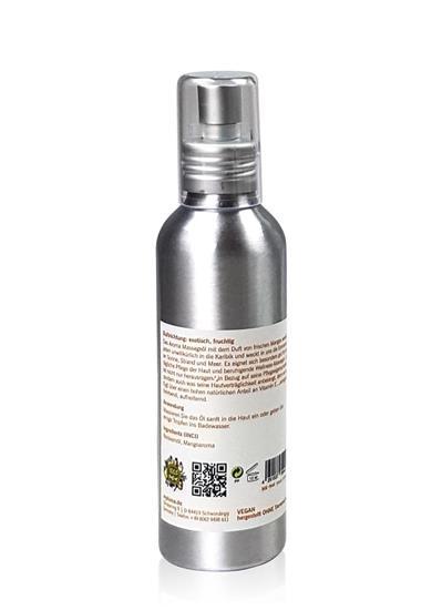 Bild von Mykima Kiss of Nature Körperöl Mango - Aroma Körper- und Massageöl Mango - 150 ml