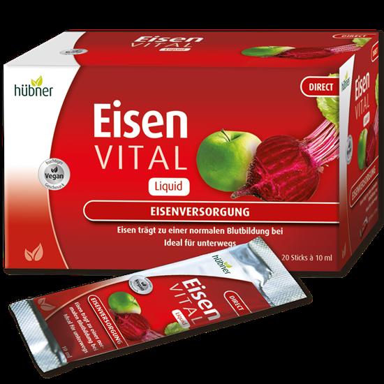 Bild von Hübner - Eisen Vital® F Direkt - 20 Sticks á 10 ml