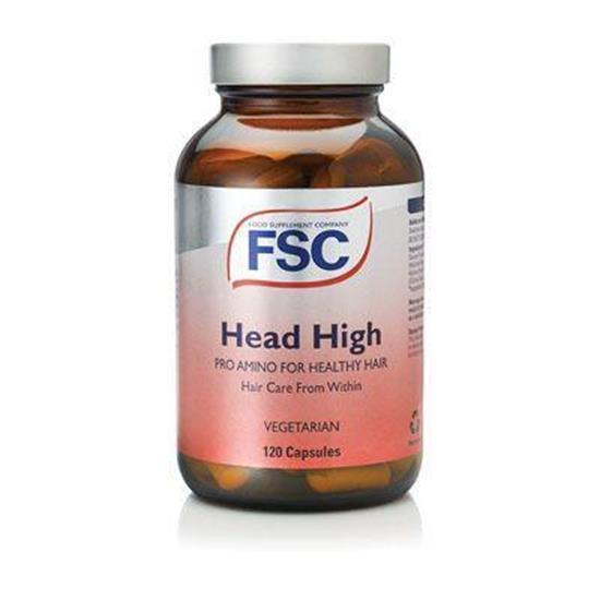 Bild von FSC - Head High Pro-Amino - 120 Kapseln