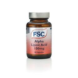 Bild von FSC  - Alpha Lipoic Acid - Alpha Liponsäure 100mg - 60 Kapseln