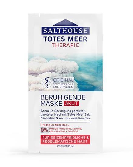 Bild von Salthouse Totes Meer Therapie - Beruhigende Maske - 2 x 7ml