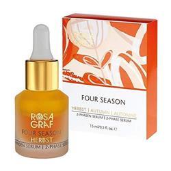 Bild von Rosa Graf - Four Season - Herbst 2-Phasen Serum - Mit Hyaluron, Mandelöl & Vitamin C - 15 ml