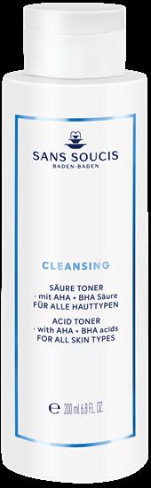 Bild von Sans Soucis Cleansing - Säure Toner mit AHA + BHA Säure - 200 ml