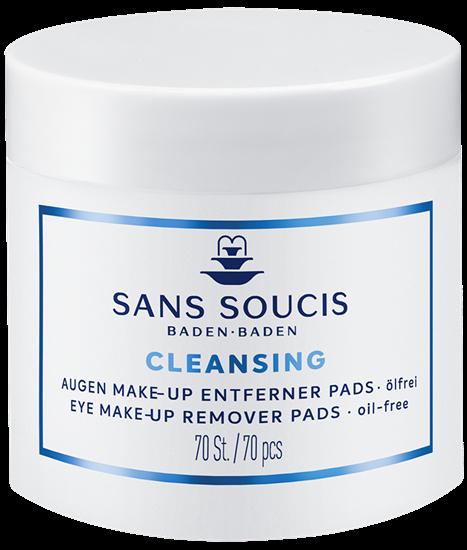 Bild von Sans Soucis Cleansing - Augen Make Up Entferner Pads - 70 Stk.