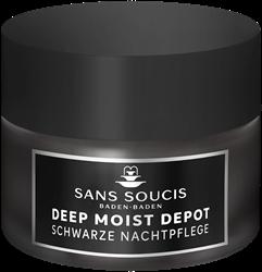 Bild von Sans Soucis Deep Moist Depot - schwarze Nachtpflege - 50 ml