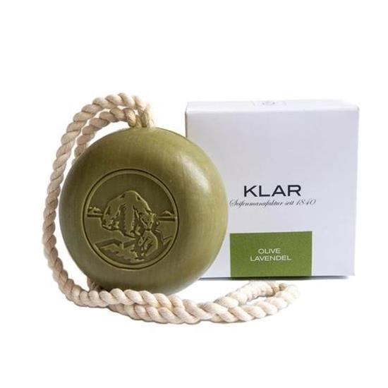 Bild von Klar - Haar & Körperseife - Olive Lavendel -  Vegan - Palmölfrei - 250 g