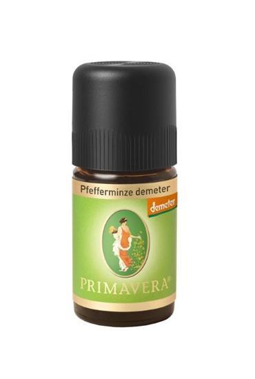 Bild von Primavera® - Ätherisches Öl - Pfefferminze Demeter - 5 ml