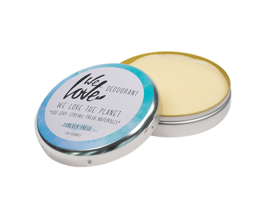 Bild von We Love The Planet - Deocreme - Forever Fresh - Natural Deo Cream - Mit Zitrusölen und Kräutern - 48 g