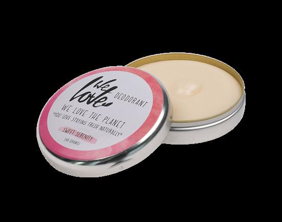 Bild von We Love The Planet - Deocreme - Sweet Serenity - Natural Deo Cream - Rose - 48 g
