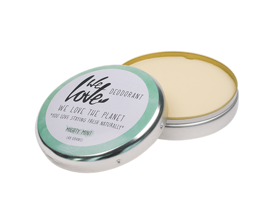 Bild von We Love The Planet - Deocreme - Mighty Mint - Natural Deo Cream - Minze - 48 g