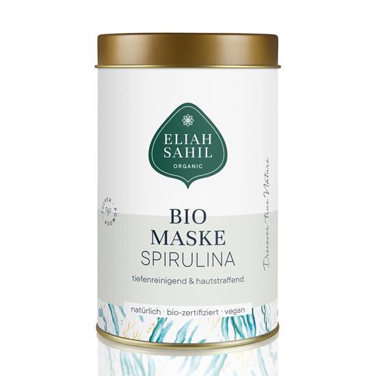 Bild von Eliah Sahil Organic - Bio Gesichtsmaske Spirulina - 100 g
