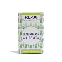 Bild von Klar - Festes Shampoo - Haarseife - Lemongrass & Aloe Vera - 100 g