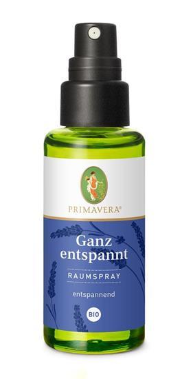 Bild von Primavera® - Ganz entspannt Raumspray bio - 50 ml