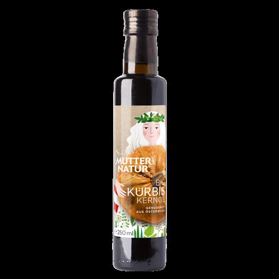 Bild von Mutter Natur - Bio Kürbiskernöl - 250 ml