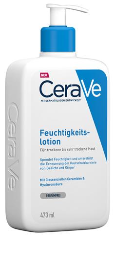 Bild von CeraVe - Feuchtigkeitslotion für trockene bis sehr trockene Haut