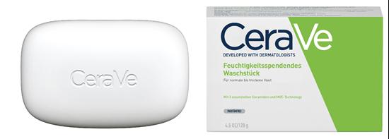 Bild von CeraVe - Feuchtigkeitsspendes Waschstück für normale bis trockene Haut - 128 g