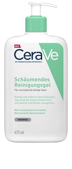 Bild von CeraVe - Schäumendes Reinigungsgel für normale bis fettige Haut