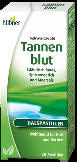 Bild von Hübner Tannenblut® - Halspastillen - 20 Stück