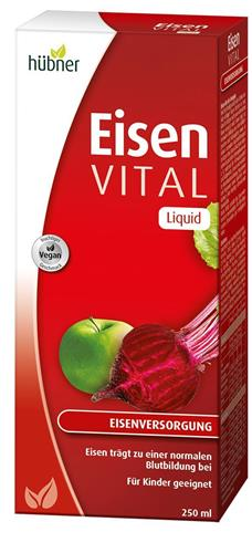 Bild von Hübner - Eisen Vital - Liquid 250 ml