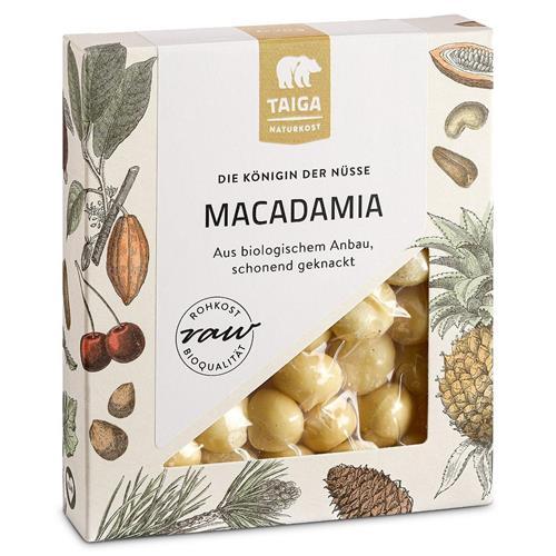 Bild von Taiga Naturkost - Macadamia - Bio - Rohkost-Qualität - 70 g